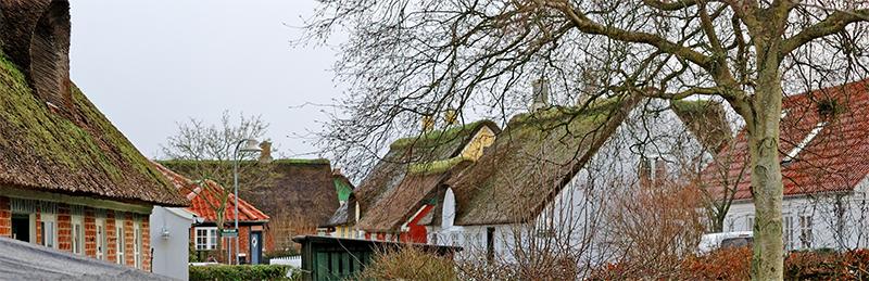 Huse i Sønderho på Fan'