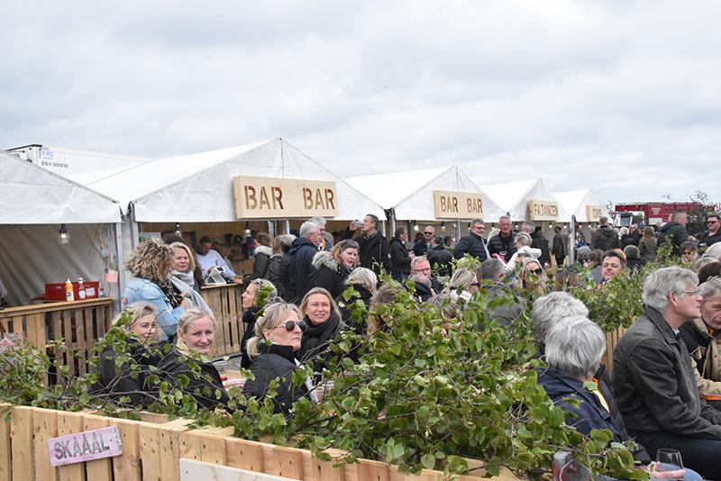 Publikum på Fanø Vesterland 2019