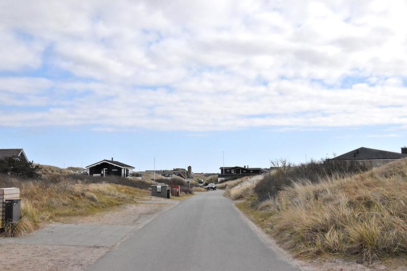 Sommerhusområde ved Slunden i Rindby