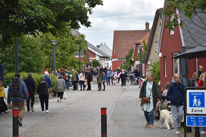 Turister i Nordby 2020
