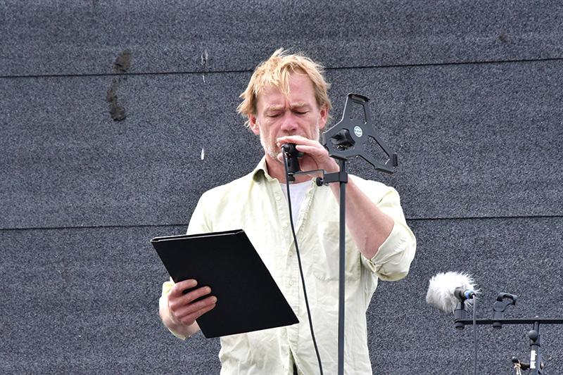 Forfatter Jeppe Brixvold fortalte om møllens - eller møllernes - spændende historie.