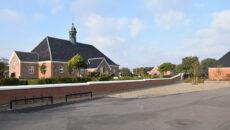 Nordby Kirke her på billedet er sammen med Sønderho Kirke rammen om det folkekirkelige liv på Fanø.
