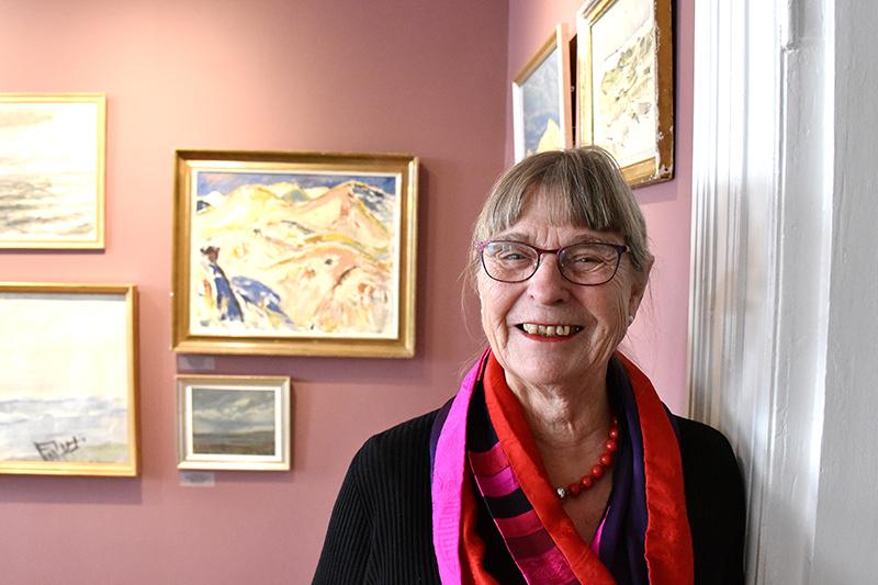 Birgit Knudsen bruger mange timer på Fanø Museum.