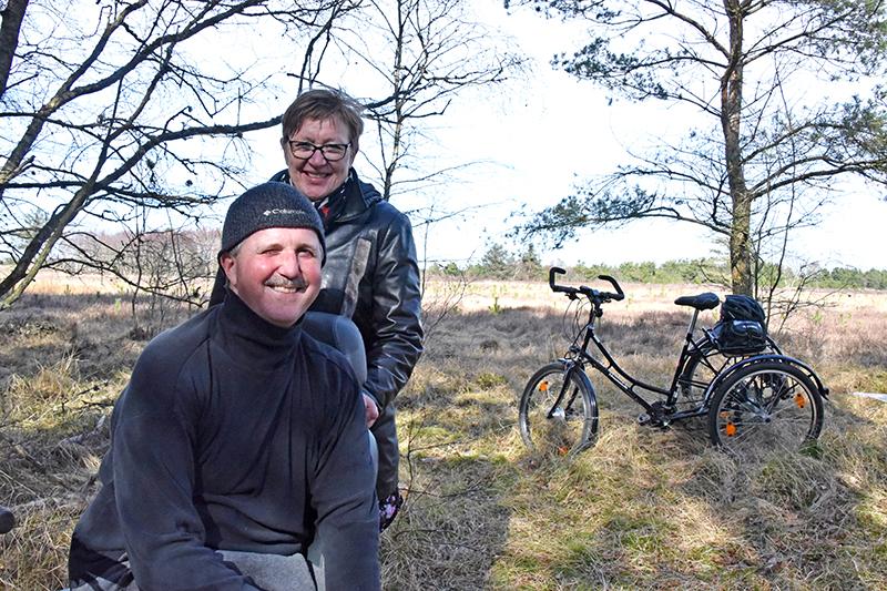 Steen Birger og Magda Hansen er kommet på Fanø i mange år, og i 2020 opdagede de Til salg-skiltet ved Landevejen 99. Og købte stedet.