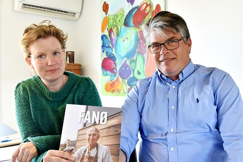Sanne Jensen og Morten Halkjær.
