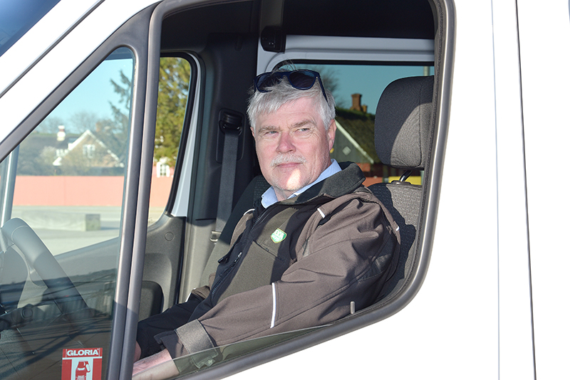 Taxivognmand Ole Thomassen