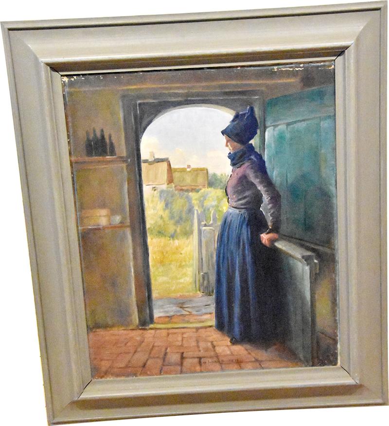 Johan Rohde-maleri