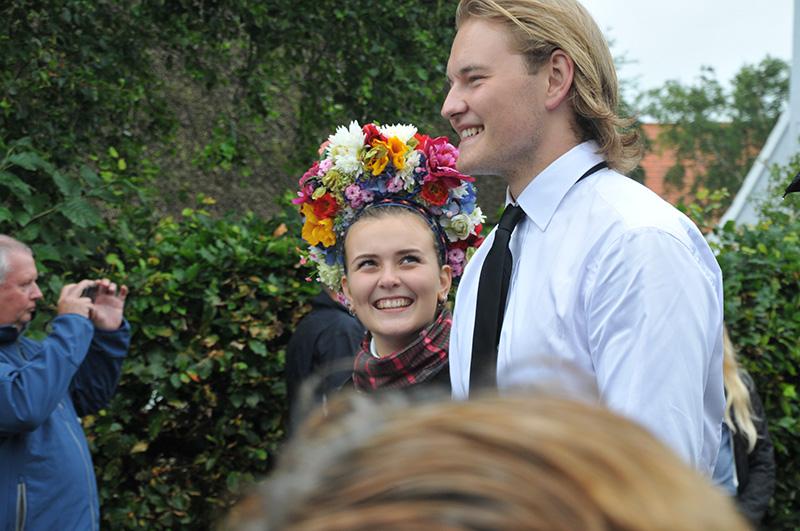 Sønderhodag brudepar