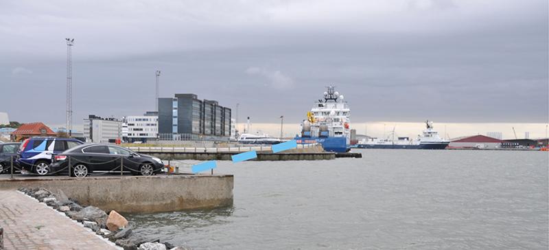En sikker adgang til Fanø Færgen