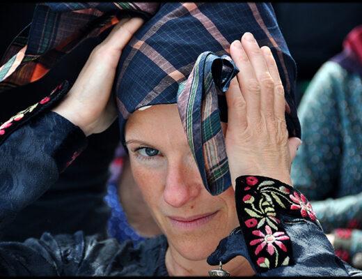 Gertrud Exner har skaffet over en halv million konerr til Sønderho. Foto: Fanø Posten