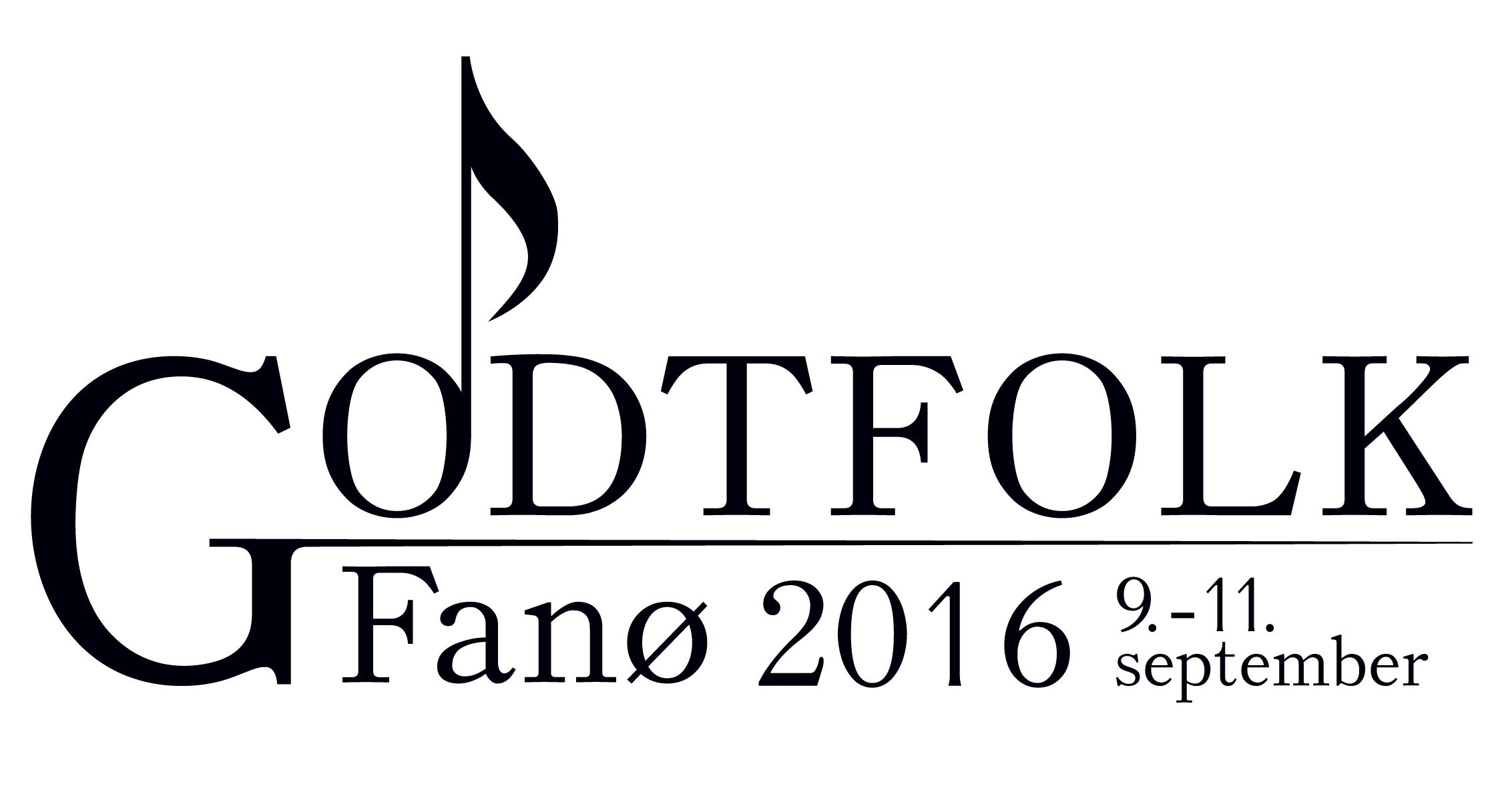 Godtfolk Festival logo sort