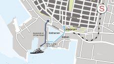 Grundkort Esbjerg Havn