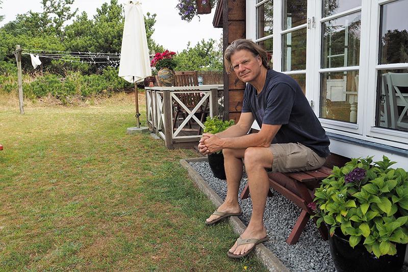 Hans Hedegaard Andersen skiftede livet på søen ud med en tilværelse som forfatter.
