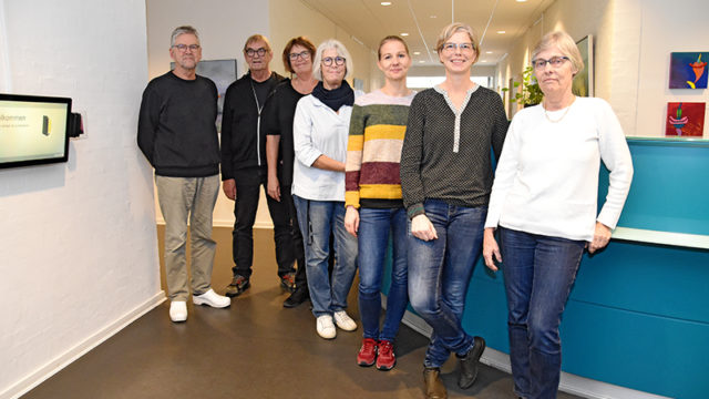 Personalet i lægehuset på Fanø