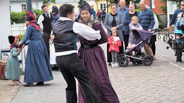 Dans i Gaderne i 2019. Foto: Keld Nissen.