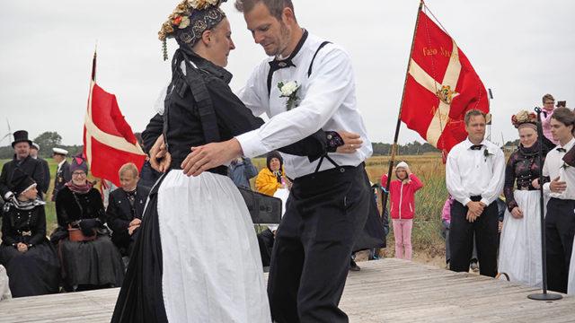 Brudedans på banken