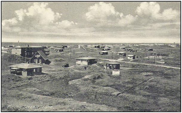 De første sommerhuse blev bygget af borgere fra Esbjerg.