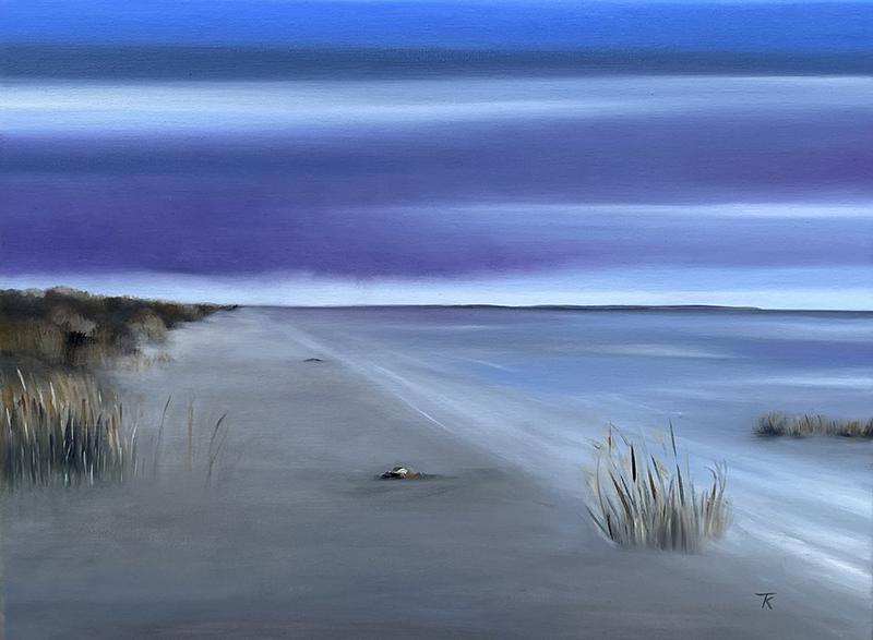 Et af Tina Koldings nye værker fra Fanø.