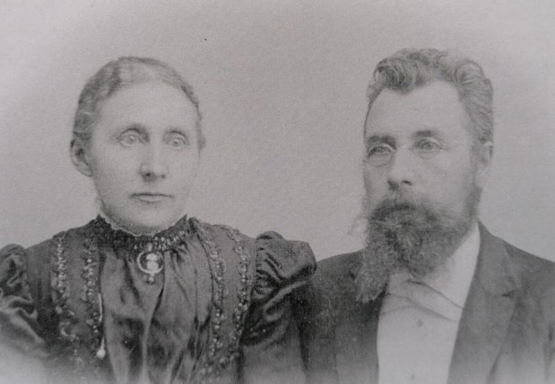 Knudsine Margrethe Buch, f. Knudsen og Søren N. Buch.