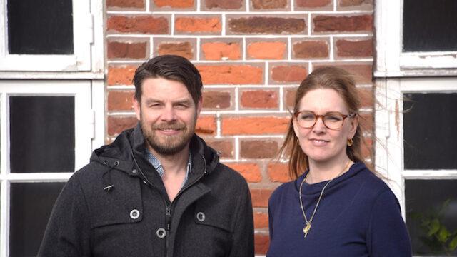 Christian Lorenzen og Sofie Valbjørn