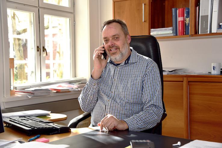 Erik Nørreby (V) genopstiller og vil gerne være borgmester igen.