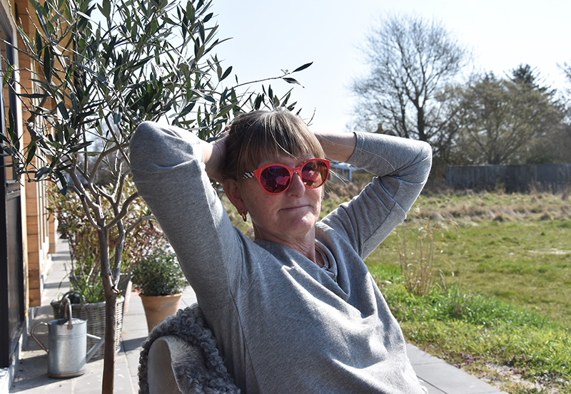 Tina Kolding får også tid til at nyde roen og skønheden i Sønderho.
